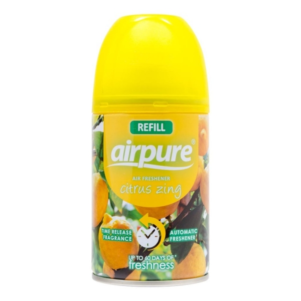 Air Pure Air Freshener Citrus Zing 250ml
