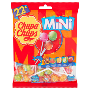 Chupa Chups Mini 22 Assorted Lollipops Packet 132g