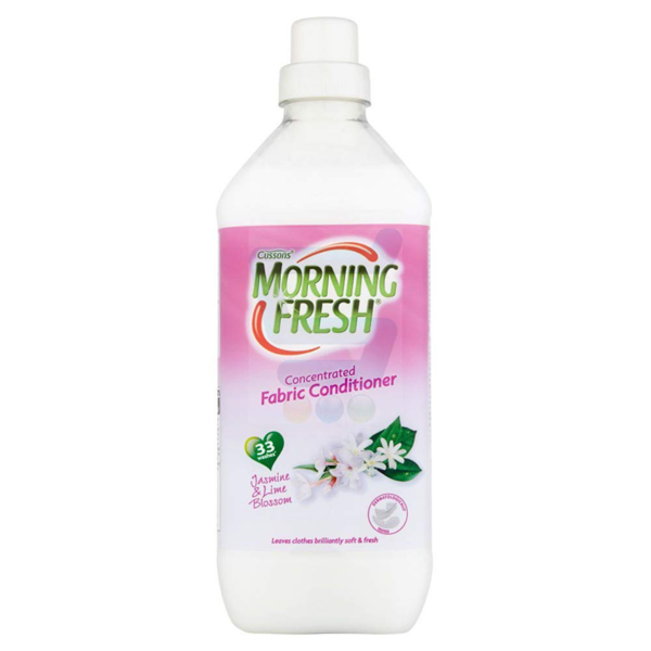 Cussons Morning Fresh Concentrated Fabric Conditioner Jasmine And Lime Blossom 1L