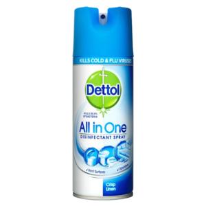 Dettol Disinfectant Spray 400ml - Crisp Linen