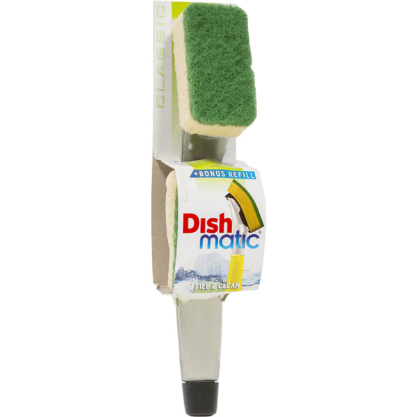 Dishmatic Fill & Clean Long Lasting Brush