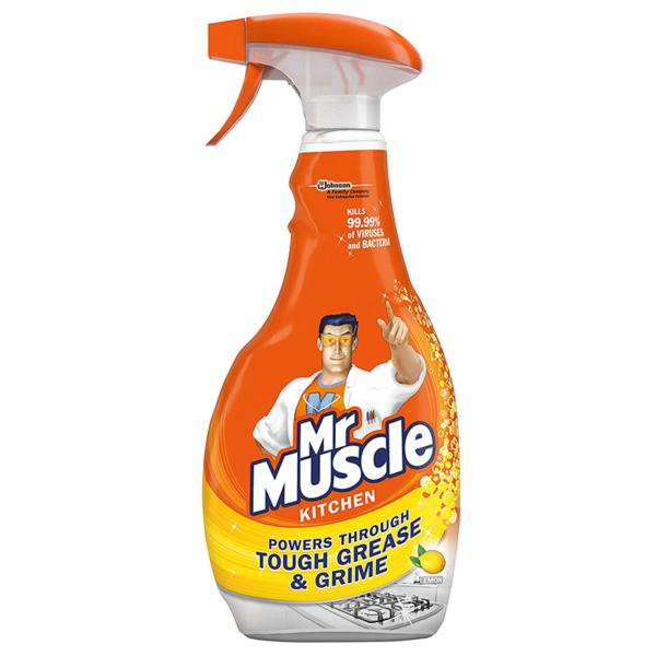 Mr Muscle Advanced Power Kitchen Cleaner Lemon 750ml