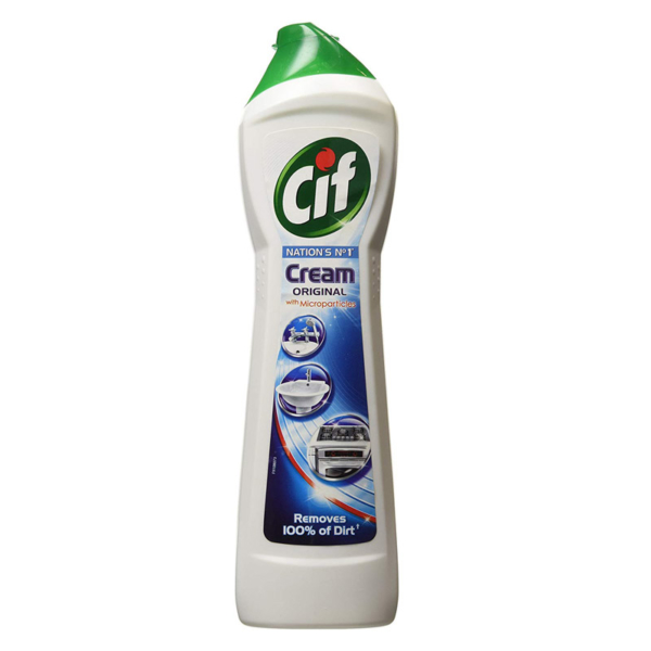 Cif Multi Purpose Cleaner with Cream and Micro Crystals Original - 500 ml