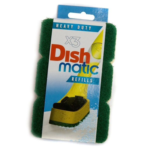 Dish Matic Fill & Clean Refill - Pack Of 3