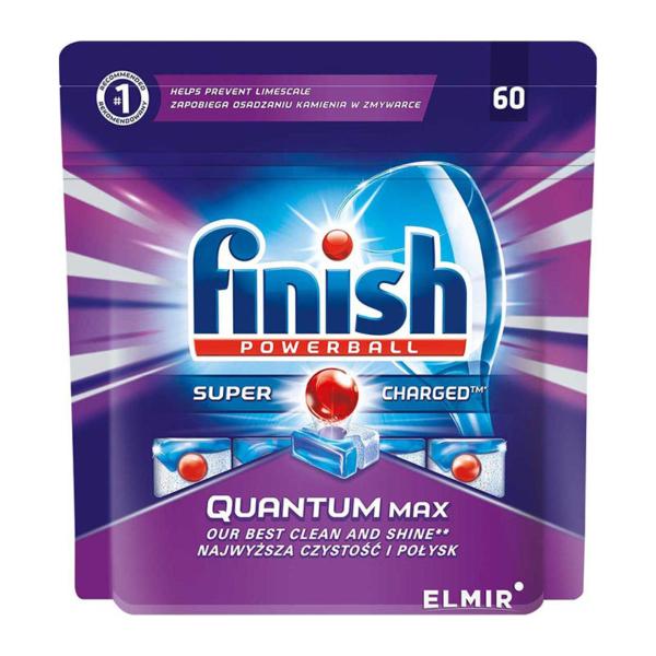 02 Finish Dishwasher Tablets Quantum Regular 60 s