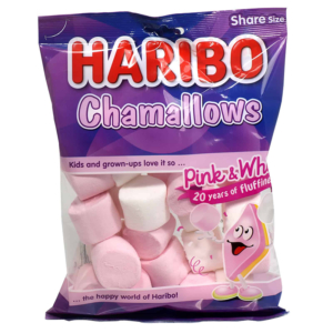 Haribo Chamallows Pink & White 140g
