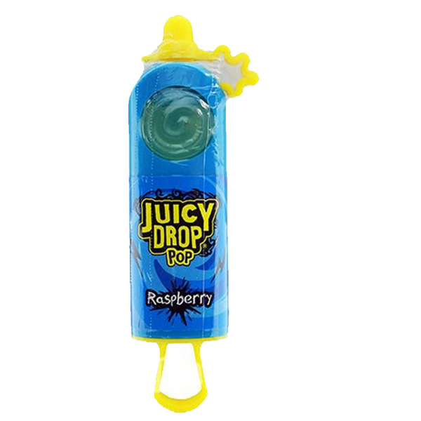 Juicy Drop Pop Hard Candy & Sour Liquid Strawberry 26g
