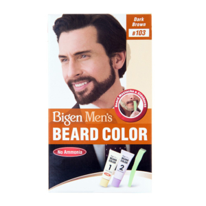 Bigen Mens Beard Colour Dark Brown B103
