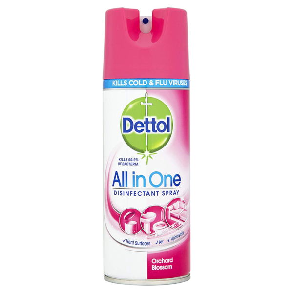 Dettol Disinfectant Spray 400ml - Orchard Blossom