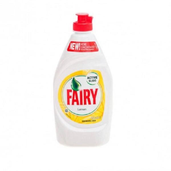 Fairy Active Suds Dishwashing Liquid Lemon 450ml