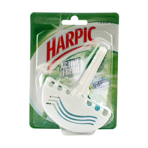 Harpic Active Fresh Mountain Pine Toilet Block 38g