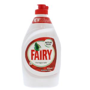 Fairy Active Suds Dishwashing Liquid Pomegranate 450ml