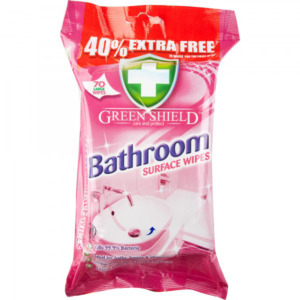 05 Greenshield Bathroom Surface Wipes 70 s