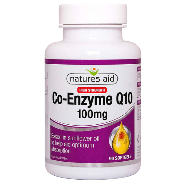 Natures Aid Co Enzyme-10 100mg 90s