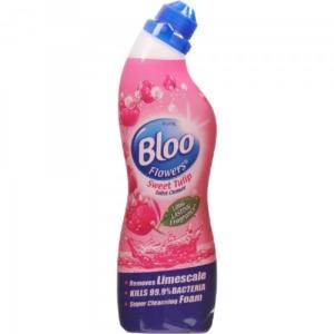 Bloo Flowers Toilet Liquid Cleaner Sweet Tulip - 750 ml