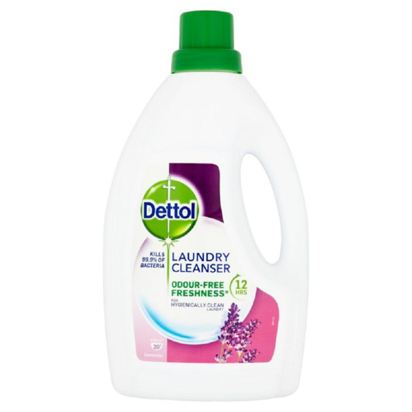 Dettol Anti Bacterial Laundry Cleansers 1.5 Ltr Lavender