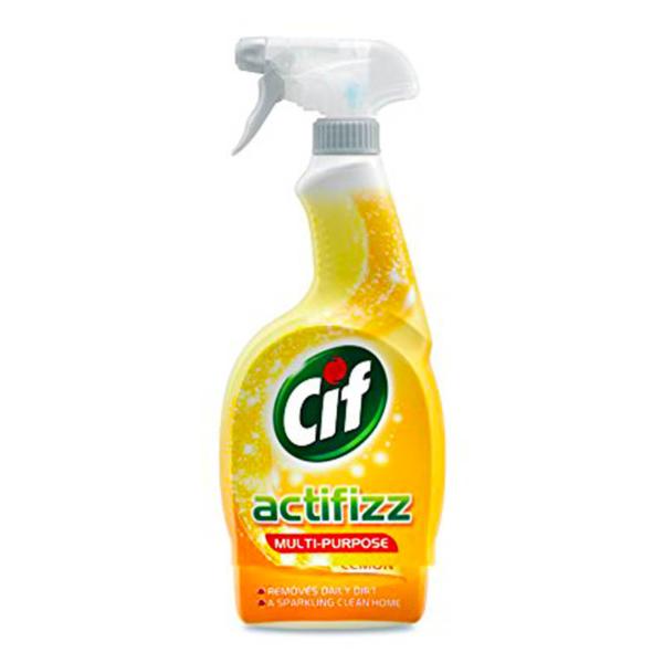 Cif Multipurpose Cleaner, Actifizz Lemon - 700 ml