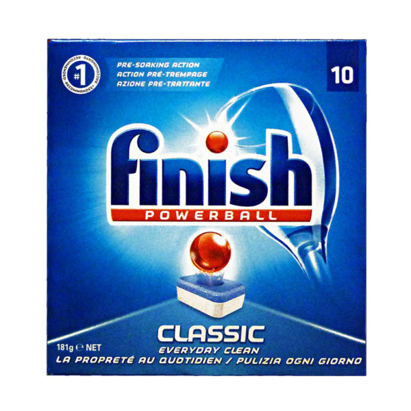 09 Finish Dishwasher Tablets Classic 10 s