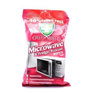 09 Greenshield Microwave Fridge Freezer Wipes 70