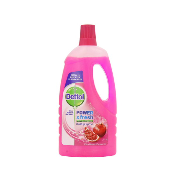 11 Dettol Clean Fresh Multi Purpose Floor Cleaners 500ml Pomegranate