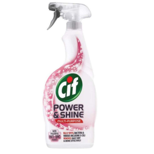 12 Cif Power Shine Multipurpose Cleaner With Powerful Anti Bac Agents 700ml
