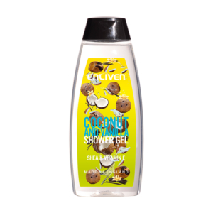 Enliven Fruit Shower Gel Coconut Vanilla