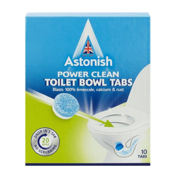 Astonish Power Clean Toilet Bowl Tab 10 Tabs Limescale