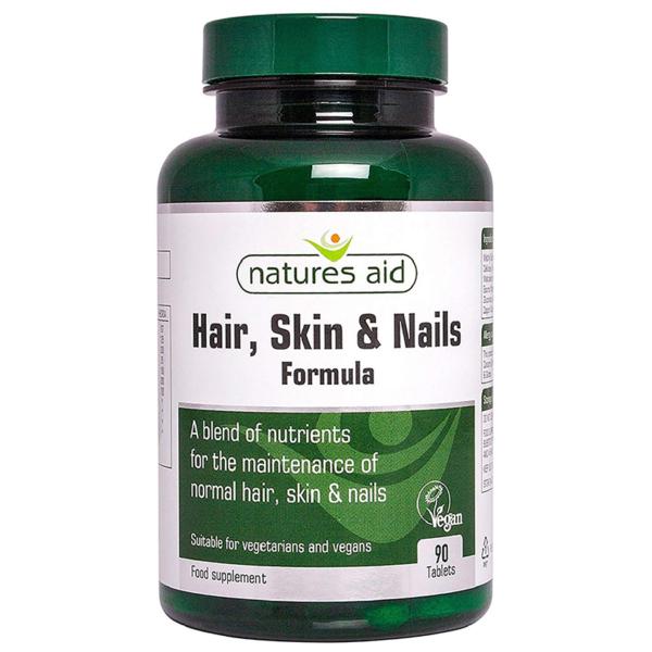 Natures Aid Hair Skin & Nails Formula 90s