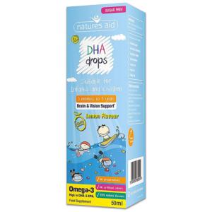 Natures Aid Omega-3 DHA Mini Drops 50ml