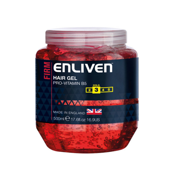 Enliven XL Hair Gel Firm 500ml -Red