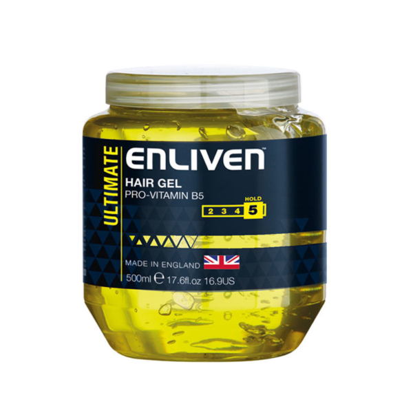 Enliven XL Hair Gel Ultimate 500ml -Yellow