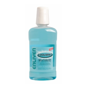 Enliven Mouthwash Coolmint 500ml 2