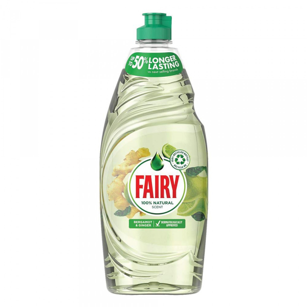 Fairy Dishwasher Liquid 625ml Ginger