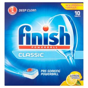 Finish Dishwasher Tablets 10s Lemon