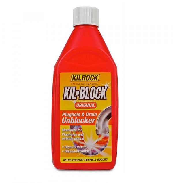 Kilrock 500Ml Drain Unblocker Liquid