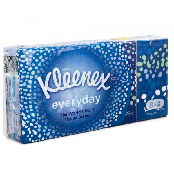 Kleenex Everyday Pocket Tissues Pack of 8