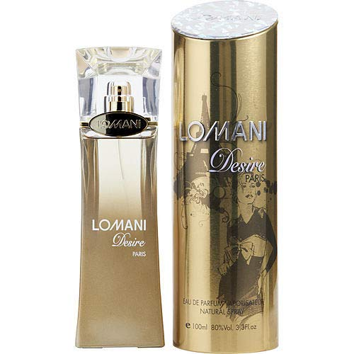 Lomani Desire Eau De Parfum Spray 100.5 ml