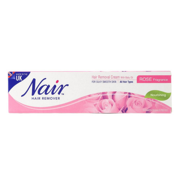 Nair Rose Fragrance Hair Removal Cream 110g
