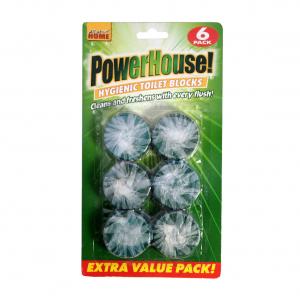 Power House Toilet Blocks 6 IN 1