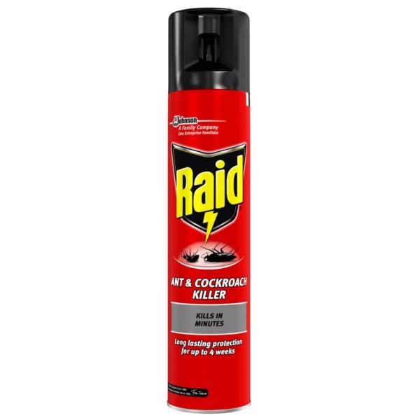 Raid Ant and Cockroach Killer Spray 300 ml