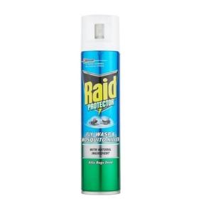 Raid Fly Wasp Mosquito Killer 300 Ml 2