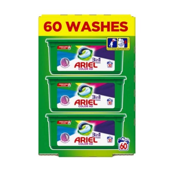 ariel 60 washes colour