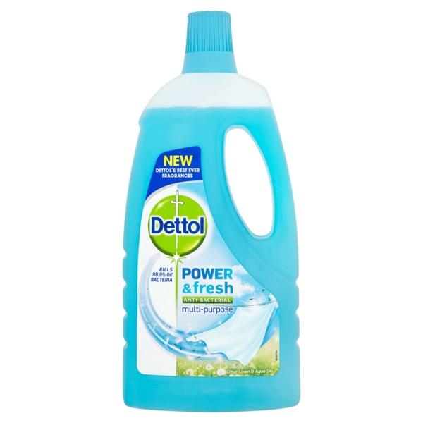 dettol power and fresh aqua linen floor cleaner