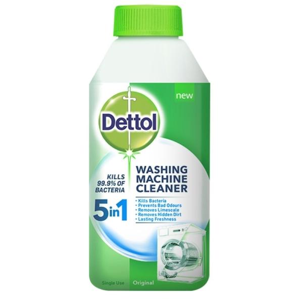 dettol washing machine cleaner 250 ml green
