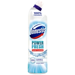 domestos power and fresh toilet cleaner