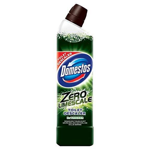domestos zero limescale toilet cleaner 750ml