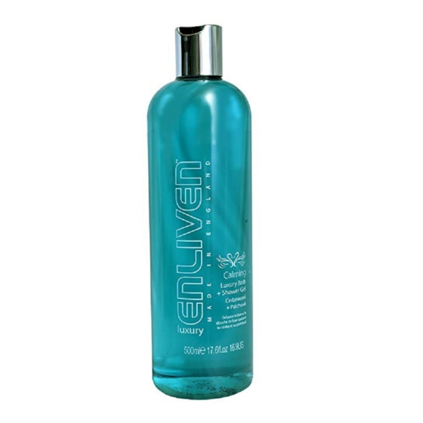 enliven calming luxury bath shower gel