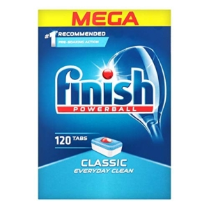 finish 120 tabs classic everyday clean