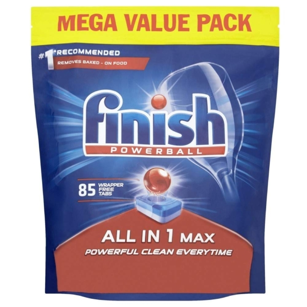 finish all in 1 max 85 tablets