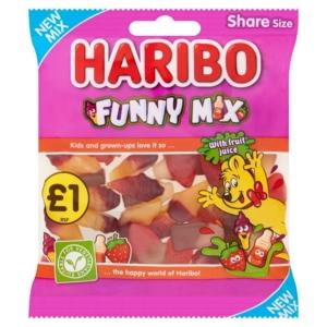 haribo funny mix 160 grams